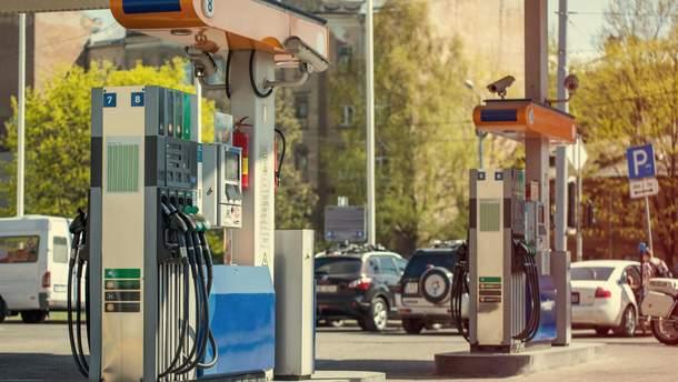 Вартість бензину в Україні