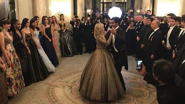 """Ава Филипп на """"Bal des Débutantes"""""""