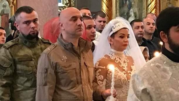 Весілля  поплічника бойовиків Прілєпіна
