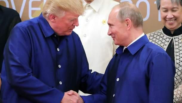 Трамп похвалив себе, згадавши тричі про Росію
