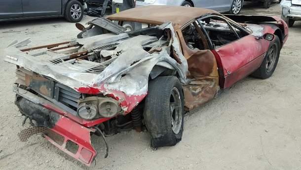 За остатки этой Ferrari 512 BB выложили 40 тысяч долларов