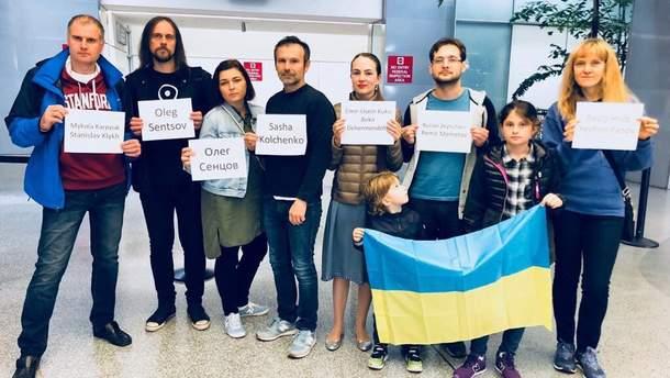 Вакарчук принял в США участие в акции в поддержку украинских политзаключенных