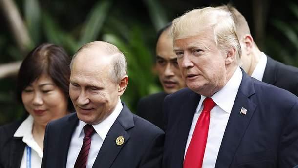 """Путін намагається переконати Трампа укласти """"погану угоду"""" щодо України"""