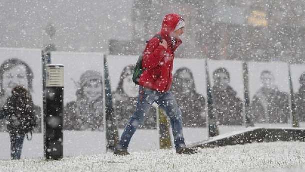 Прогноз погоды на 28 ноября в Украине