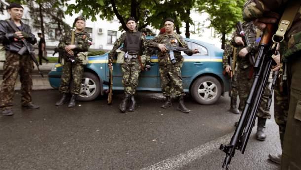 """Террористы так называемой """"ЛНР"""""""