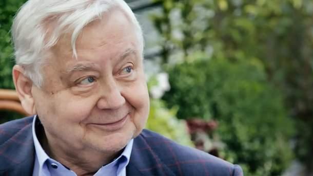 Олег Табаков потрапив у лікарню
