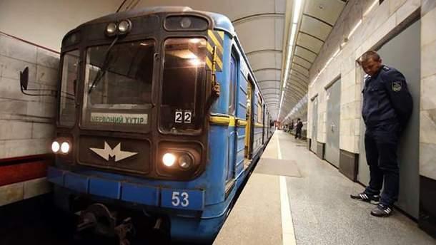 Киевский метрополитен продает старые вагоны за огромную сумму