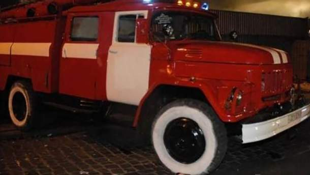 Пожарная машина (иллюстрация)
