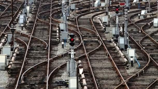 Авария на железной дороге в Бельгии