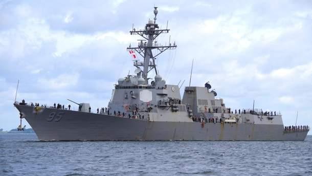 """ракетний есмінець """"Джеймс Вільямс"""" (USS James Williams DDG95)"""