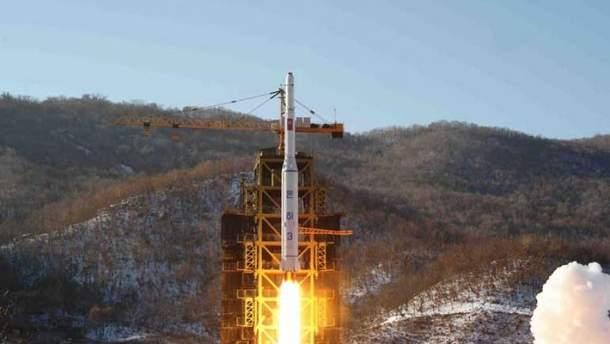 Испытания ракет Северной Кореей
