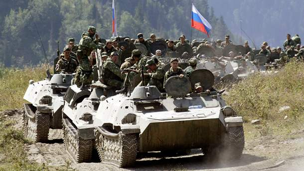 Росія стягує свої військові сили до кордонів України