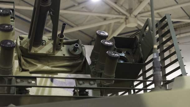 Модернизированный к стандартам НАТО БТР-4МВ1