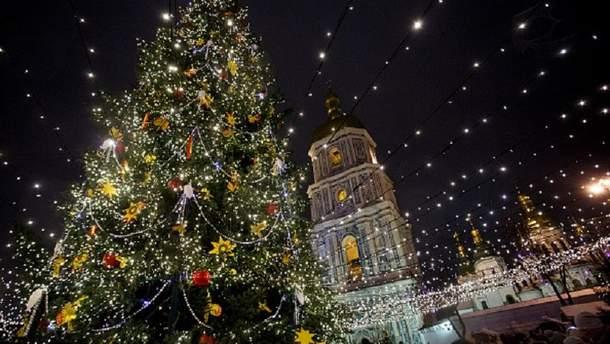 Новогодние праздники в Киеве в 2018 году
