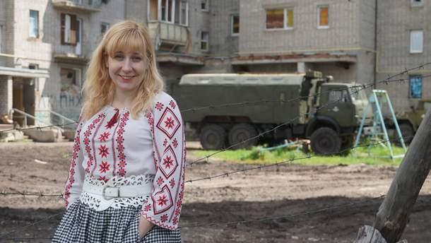 В Киеве ограбили волонтерку Воронкову