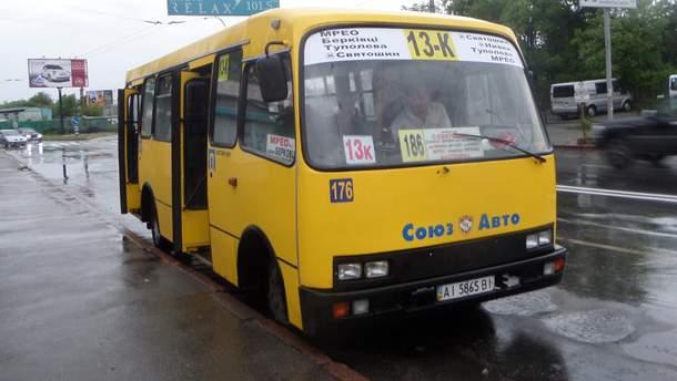 В Киеве 40% маршруток незаконно перевозят пассажиров