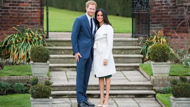 Весілля принца Гаррі та Меган Маркл: оголошено дату і місце події