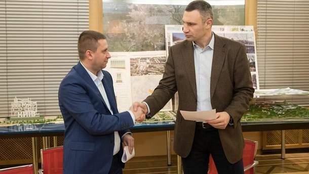 Кличко заявил о компромиссе с застройщиком