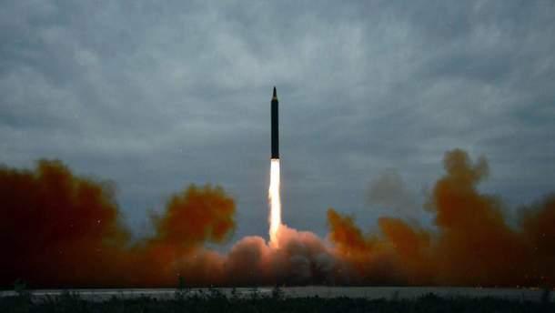 Запуск ракети КНДР