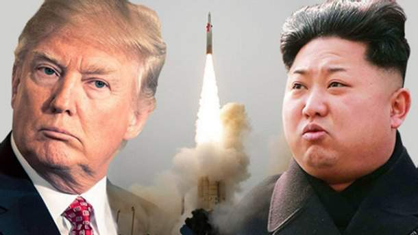 Трамп прокоментував запуск балістичної ракети Північною Кореєю