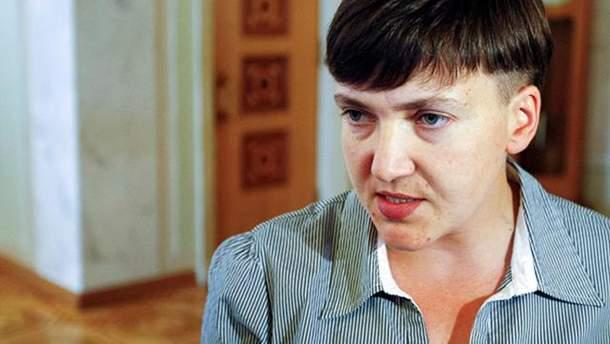 Савченко обвинила Украину в начале войны на Донбассе