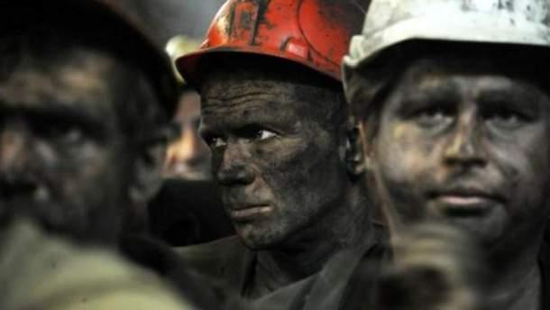 На Волыни протестуют шахтеры