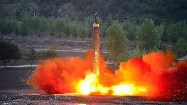Северная Корея могла зарядить Hwasong-15 имитационной бомбой