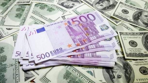 Наличный курс валют 30 ноября в Украине