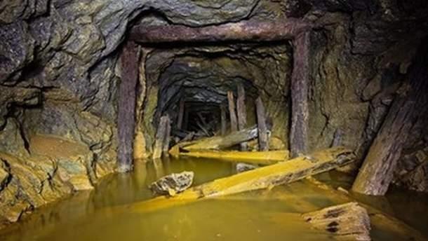 Подтопленные шахты на Донбассе