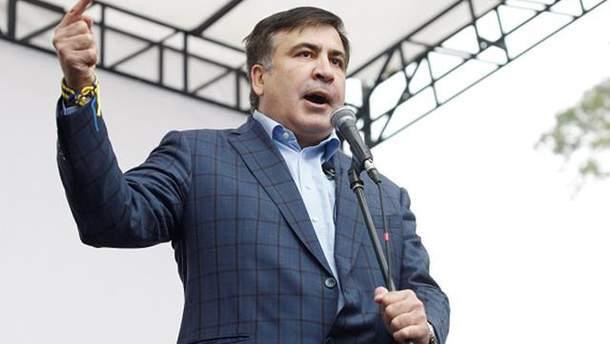 """Порошенко приказал арестовать Саакашвили до 3 декабря, заявил сам лидер """"Движения новых сил"""""""