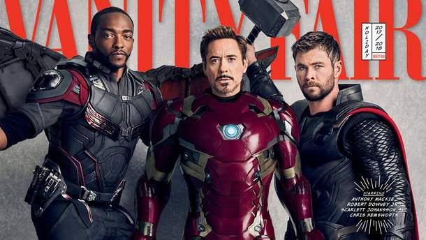 Супергерои киновселенной Marvel для издания Vanity Fair