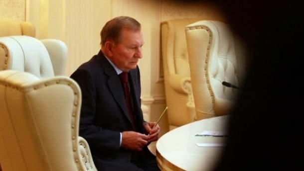 Представитель Украины в Минске Леонид Кучма