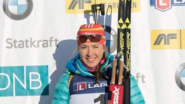 Юлия Джима завоевала бронзу в индивидуальной гонке