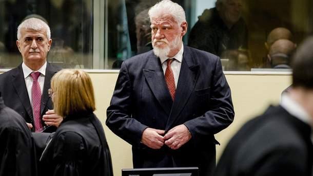 Слободан Пральяк выпил яд в Гаагском суде