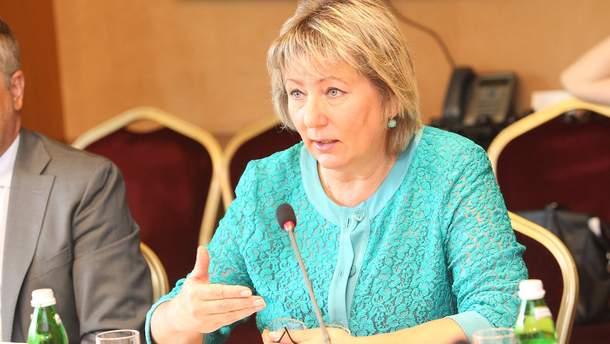 Валентина Данишевская, глава Верховного Суда Украины