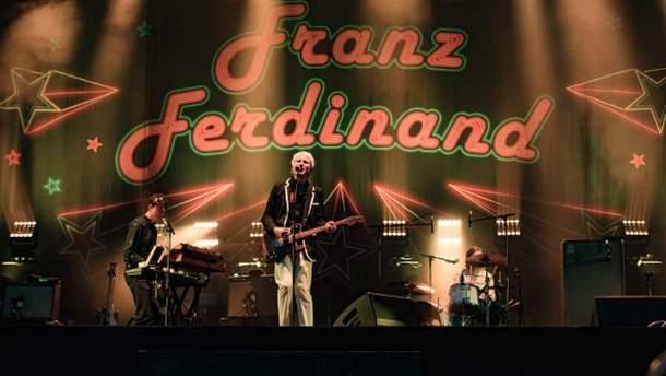 Franz Ferdinand впервые выступит в Украине.