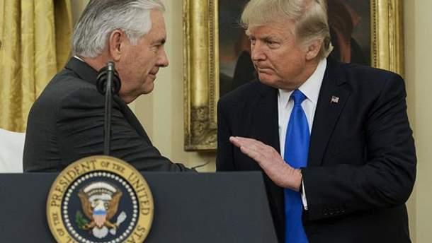 Тіллерсон досі очолює Держдепартамент США, заявили у Білому домі
