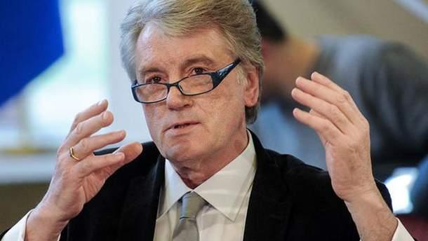 Ющенко заявил, что после Майдана молодые политики должны были объединиться в одну силу