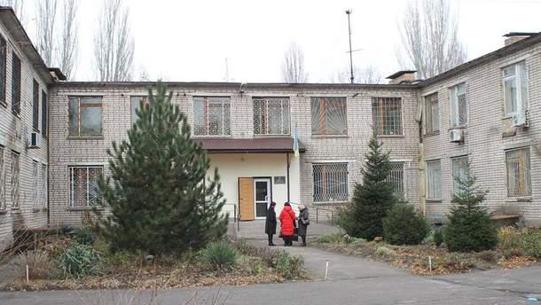 Суд в Никополе, где взорвались гранаты