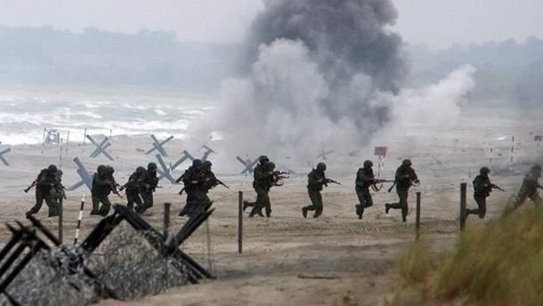 Военные учения в России