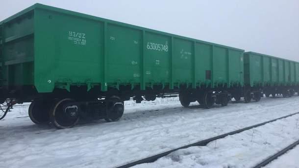 """""""Укрзалізниця"""" отримала першу партію нових вагонів"""