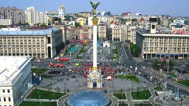 В центре Киева установят туристический логотип