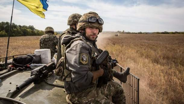 Вооруженные силы Украины на Донбассе