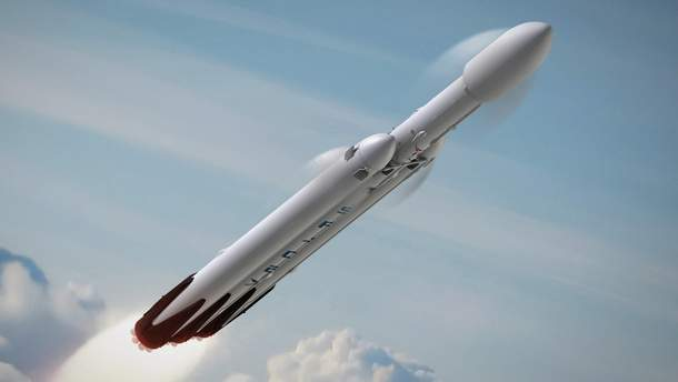 Ілон Маск анонсував перший запуск ракети  Falcon Heavy у космос