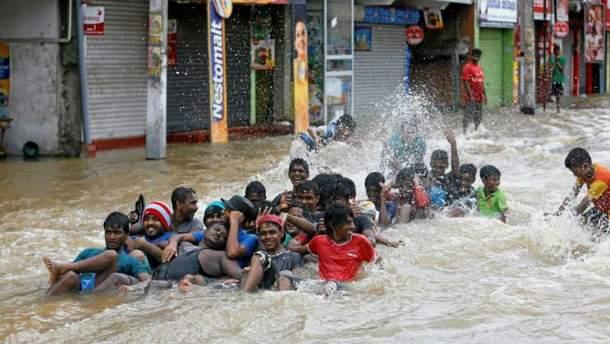 Повінь на Шрі-Ланці