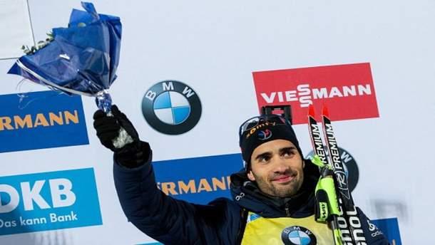 Мартен Фуркад завоевал серебро в спринте