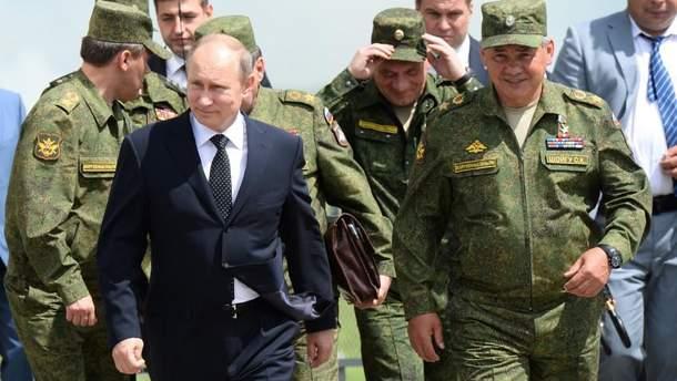 Путин предложил принимать военных из непризнанной Южной Осетии в состав ВС России