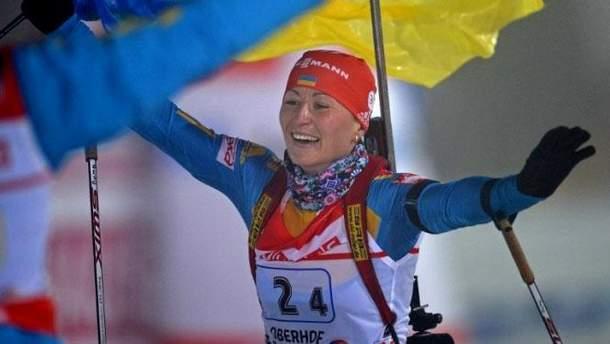 Россия хотела испортить допинг-пробу украинской биатлонистки