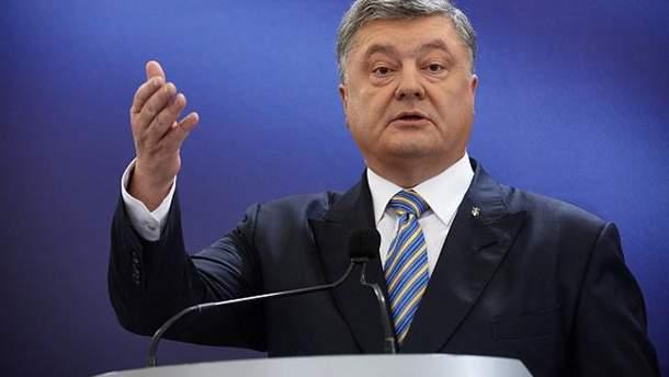 Блокировку телеканала NewsOne прокомментировал Порошенко