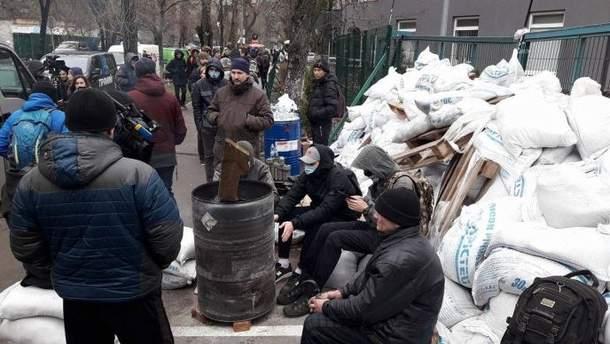 Акція протесту біля NewsOne
